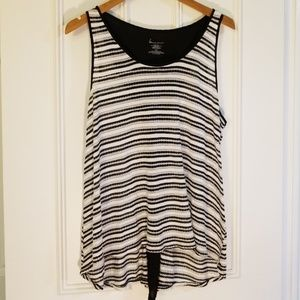 Lane Bryant Striped Knit Tank, Size 18/20